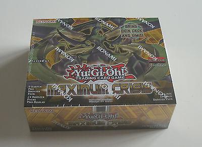 Yu-Gi-Oh - Maximum Crisis - Display - NEU & OVP - Deutsch