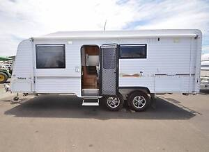 2012 21'6 SAHARA SUNSET FULL ENSUITE OFF ROAD CARAVAN *DUAL SOLAR Gympie Gympie Area Preview