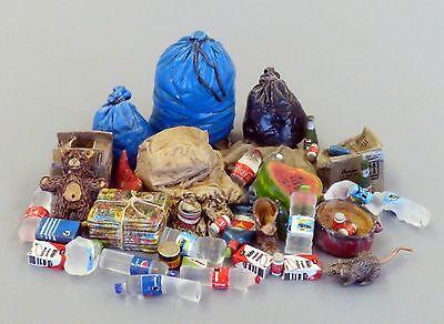 PLUS MODEL #486 Trash / Müll für Diorama in 1:35