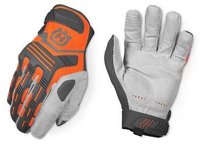 Husqvarna Chainsaw Heavy Duty Technical Gloves w/ Knuckle Protection - XL