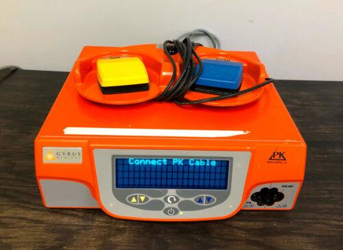 Gyrus ACMI PK SuperPulse Generator 744000 Super Pulse Version 3.01 w/ Foot Pedal