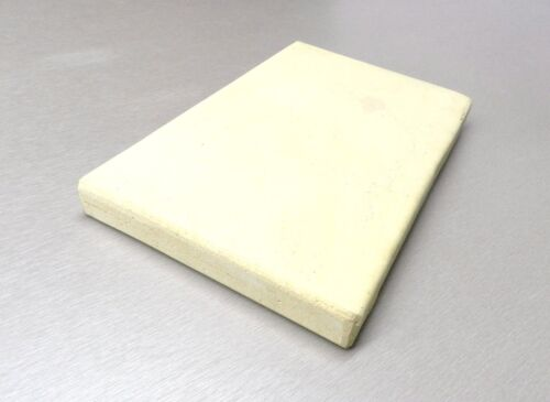 """CERAMIC BOARD SOLDERING MELTING PLATE JEWELRY BENCH HEAT TILE 6"""" x 10"""" x 1""""THICK"""