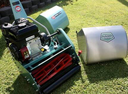 Scott Bonnar cyl mowers , fully rebuilt, with 12 month warranties