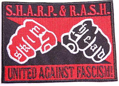 SHARP & RASH UNITED AGAINST RACISM PATCH (MBP 242)