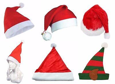 WHOLESALE CHRISTMAS SANTA FELT HATS ADULT UNISEX XMAS FANCY DRESS COSTUME - Christmas Hats Wholesale