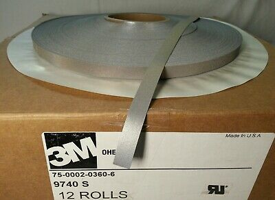 3m 9740s Scotchlite 75-0002-03606 Iron-on Reflective Safety Tape 12.7mm12 S022