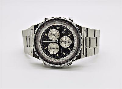 Rare Breitling Navitimer - Jupiter Pilot's Chronograph Alarm Watch Model 80975