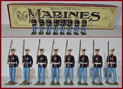 Britains Pre-War Set 228 U.S.A. Marines **CX-1235**