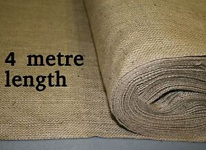 18oz Natural Hessian Material 1.8m wide x 4 metre length