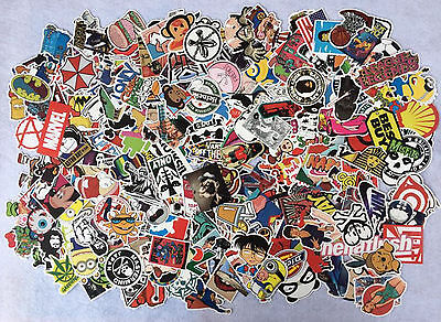 Home Decoration - 100PC Random Vinyl Decal Graffiti Sticker Bomb Laptop Waterproof Stickers Skate