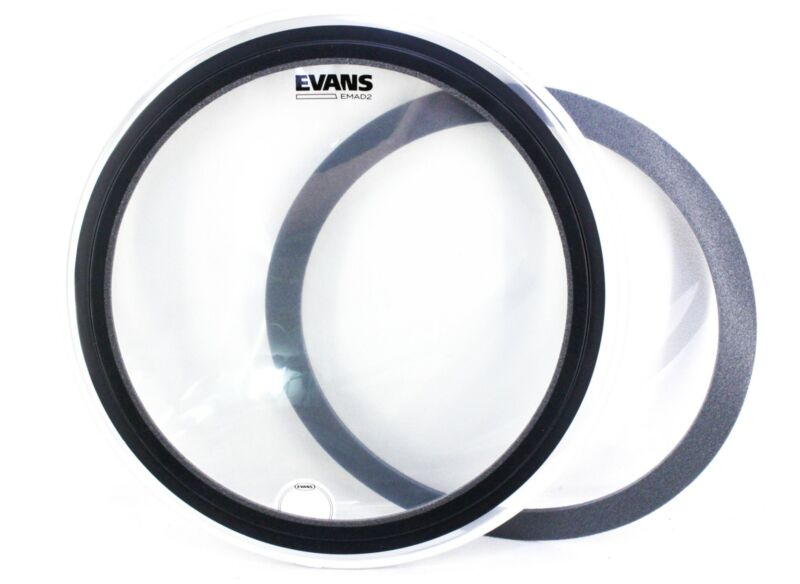 Evans EMAD 2 Clear Batter Bass Drumhead 22 in, ISSUE
