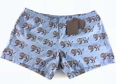 dffb9ff077 LOUIS VUITTON CHAPMAN BROTHERS LION MEN SWIM SHORTS BATHING SUIT SWIMWEAR XL