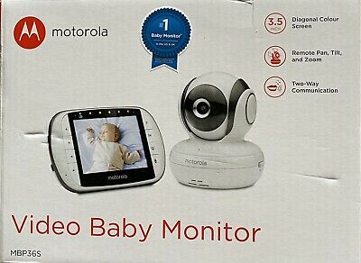 Motorola MBP36S 3.5-Inch Video Baby Monitor