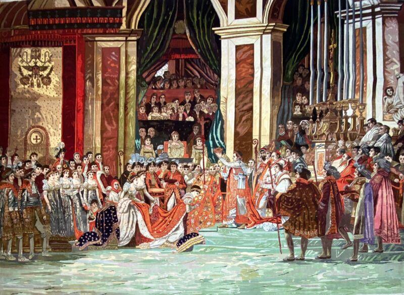 The Coronation Of Napoleon - Le Sacre De Napoléon - Jacques-louis David - Rug