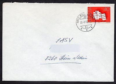 Switzerland: Cover with 1982 Publicity stamp (gymnastics)