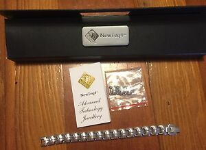 Men's Stainless Steel Neways NewTeq4 Magnetic Bracelet - $30 Bald Hills Brisbane North East Preview
