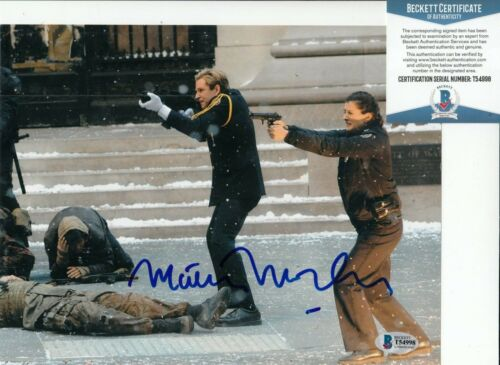 MATTHEW MODINE signed (THE DARK KNIGHT RISES) 8X10 photo BECKETT BAS T54998