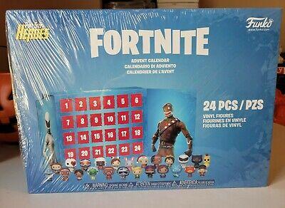 NIB New in Box Funko Fortnite Advent Calendar 24 PintSizeHeros Figurines Gamer