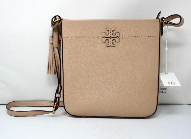 Tory Burch McGraw Swingpack Shoulder Bag Devon Sand