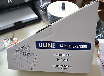 Uline 2 Industrial Side Load Tape Gun Dispenser H-150 Priority Mail Shipping