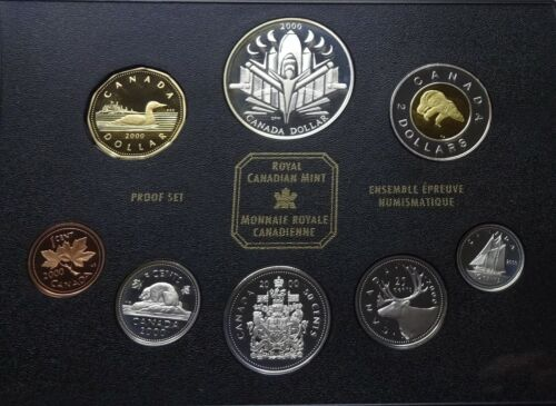"""2000 Canada Silver Proof Set - """"Voyage of Discovery"""" - Box & COA"""