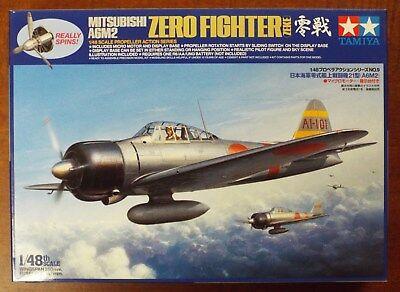 1/48 Mitsubishi A6M2 Zero Model 21 Prop Action Tamiya 61509 Factory Sealed MISB