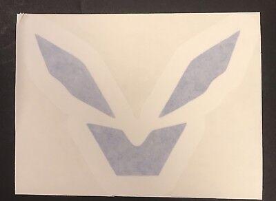 "Anthem Game Storm Javelin Blue White Vinyl Decal Auto Car Vehicle Window 4""x4.5"" (Storm Javelin)"