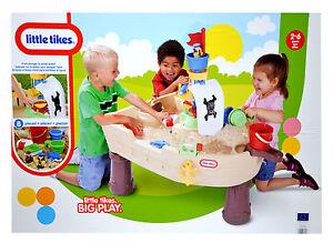 Little Tikes 628566E3 Piratenschiff Wasser und Sand Spieltisch