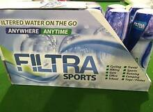 Filtra Bottles 12 Pack Brand New. BPA Free 800ml RRP$14.99 Each Robina Gold Coast South Preview