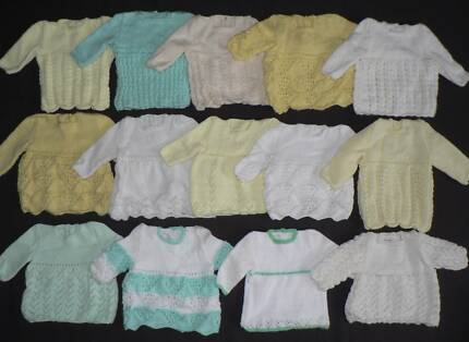 """4x PREM BABY KNITS Chest circumference 36cm/14"""". Canning Vale Canning Area Preview"""