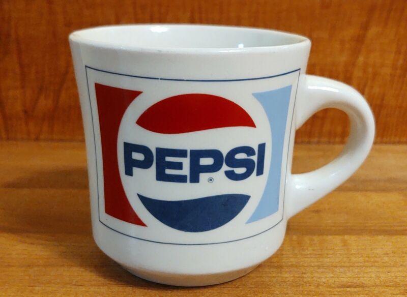 Pepsi Top Gun Choccolocco Council BSA Roundup coffee mug/cup Boy Scouts 1988