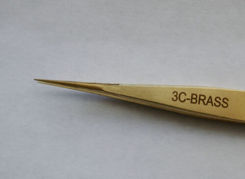 Brass Tweezer Style 3C New Made In Italy