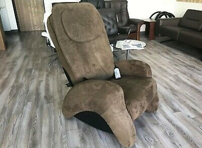 iJoy 300 Cashew Human Touch Robotic Massage Chair Massaging Recliner i Joy
