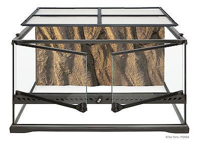 "Exo Terra Natural Terrarium Advanced Reptile Habitat Low 24"" x 18"" x 12"""