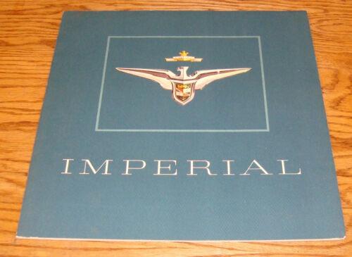 Original 1956 Chrysler Imperial Deluxe Sales Brochure 56 Southampton