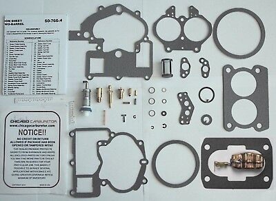 MERCURY MARINE MERCRUISER CARB KIT & BRASS FLOAT 3302-804844002 3.0 4.3 5.0 5.7L
