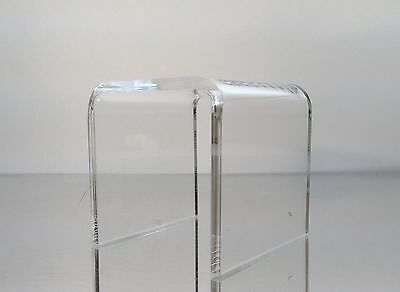 4 Pack Of Clear Acrylic Square Platform Riser Display Stand 4 X 4 X 4