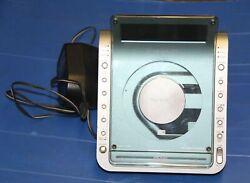 SONY Dream Machine ICF-CD855V Clock Radio Alarm CD Player - Working