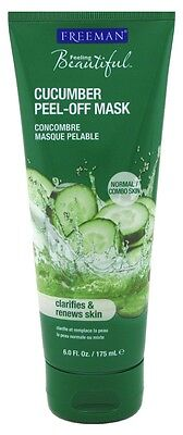 FREEMAN FACIAL CUCUMBER PEEL-OFF GEL MASK 6 Ounce Freeman Skin Mask