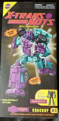 TFCon Exclusive Xtransbots CRACKUP - G2 Version - MISB sealed