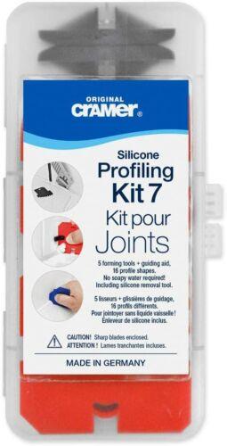 Cramer Professional Caulking Tool Kit 40407US Silicone Filling Removal Kit 7pcs