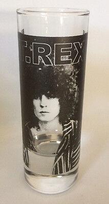 T REX Marc Bolan SHOT GLASS