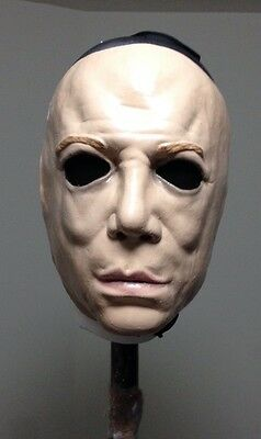 Creeper Skin Face mask Clown Prop Replica Halloween jason freddy Creepy Purge
