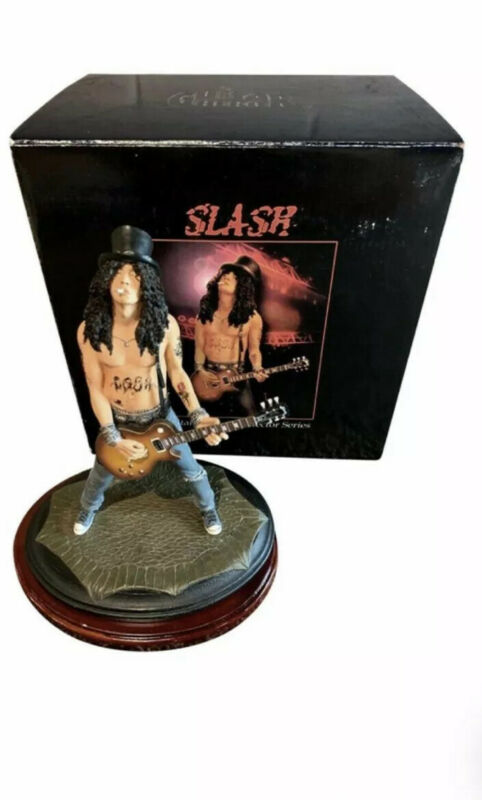 Rare 2005 KnuckleBonz Rock Iconz Guitar Hero SLASH Statue Figure #1285/3000