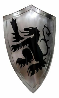 Cheap Clever Costumes (MEDIEVAL KNIGHT SHIELD STEEL cheap and clever halloween costumes Halloween)
