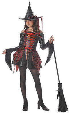Abracadabra Magical Witch Tween Chid Costume - Girl Witch Costume