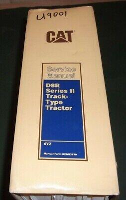 Cat Caterpillar D8r Series Ii Tractor Dozer Service Shop Repair Book Manual 6yz