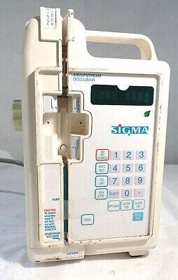 Sigma 8000 Iv Pumpfor Partsrepair