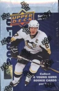 2009-2010 Upper Deck Series 1 Hockey Factory Sealed Hobby Box
