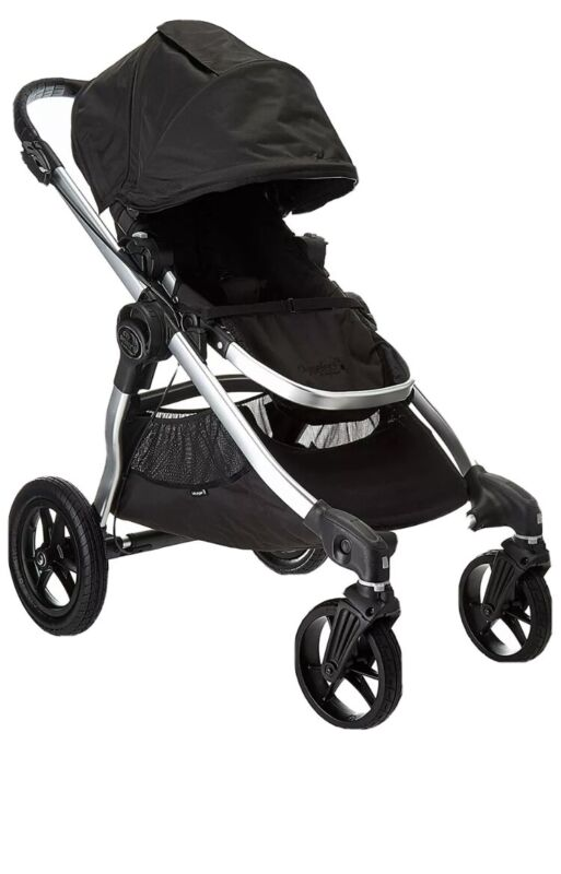 Baby Jogger City Select All Terrain Single Stroller Silver Frame Onyx
